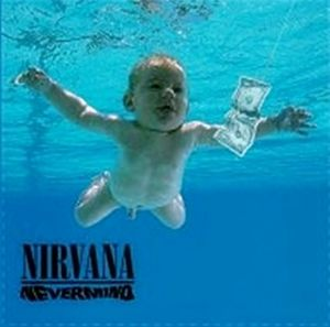 Nirvana Nevermind steel fridge magnet (ro)